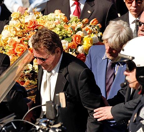 Farrah Fawcett Funeral